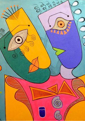 Moroccan Abstract Art